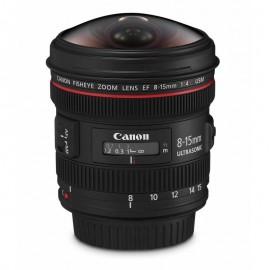 Lente Canon EF 8 15mm f/4L Fisheye USM