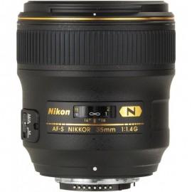Lente Nikon AFS 35mm f/1.4G