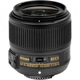 Lente Nikon AFS 35mm f/1.8G ED FX