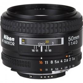 Lente Nikon AF 50mm f/1.4D