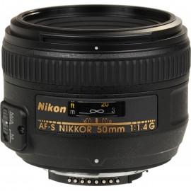 Lente Nikon AFS 50mm f/1.4G