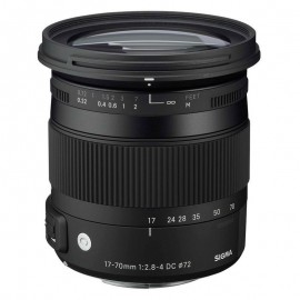 Lente Sigma 17-70mm f/2.8-4 DC OS Macro HSM (Canon)
