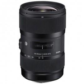 Lente Sigma 18-35mm f/1.8 DC ART HSM (Canon)