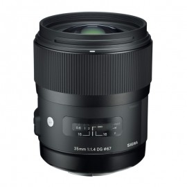 Lente Sigma 35mm f/1.4 ART DG HSM (Nikon)