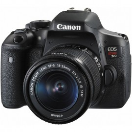 Canon EOS T6i + 18 55mm IS STM