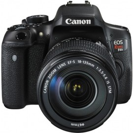 Canon EOS T6i + 18 135mm IS STM