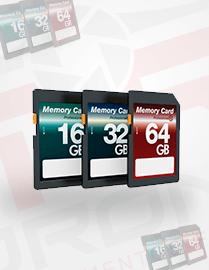 Cartões de Memórias e Micro SD