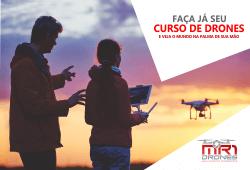 Curso de Drones no Rio de Janeiro é na MR1 Drones