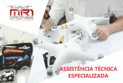 Assistência Técnica para Drones no Rio de Janeiro é na MR1 Drones